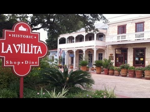 La Villita San Antonio One Of The Historic Fun Interesting Places To See In Texas Youtube