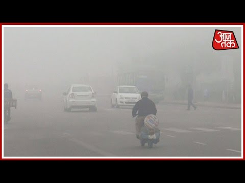 Delhi officially welcomes winter as dense fog envelops city
