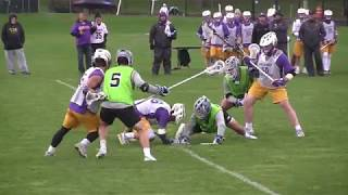 2018 Johns Hopkins vs Albany Lacrosse Scrimmage Highlights