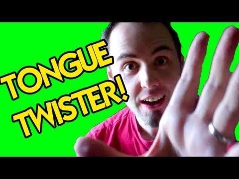 STU : Tongue Twister!!!