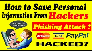 What is Phisning Attack- How to Save Personal information Credit Card ID from Hackers in  Hindi/Urdu