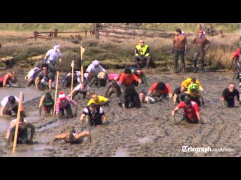 Maldon Mud Race gets mucky