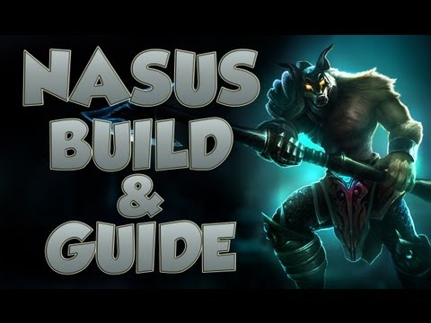 League of Legends - Nasus Build - with Commentary