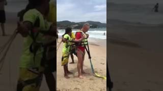Australian Tourist Age 70 FALLS To Death While Parasailing In Thailand (RAW VIDEO)