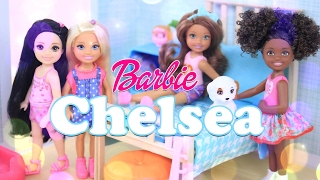 Unbox Daily:  Barbie Chelsea Dolls - Doll Review - 4K