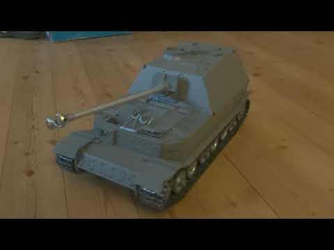 IBU 2 ULTIMATE - erster Fahrtest im unfertigen Hooben Elefant Panzer