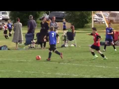 5/17/2013 4th Grade Midway Ninja Sharks (with Lasers) Soccer Highlights