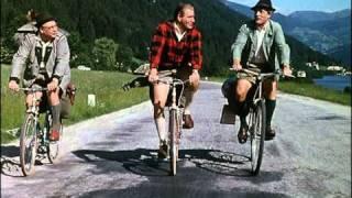 Heinz Erhardt, Wolf Albach-Retty, Hans Joachim Kulenkampff - Mit Dem Rad, Kamerad