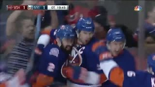 Tavares chips the OT winner behind Holtby