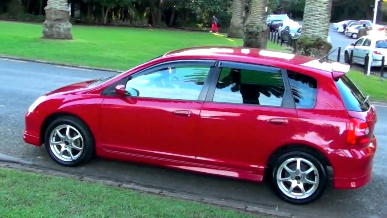 Honda Civic Modulo 2001 Honda Civic Vtec Modulo 2001