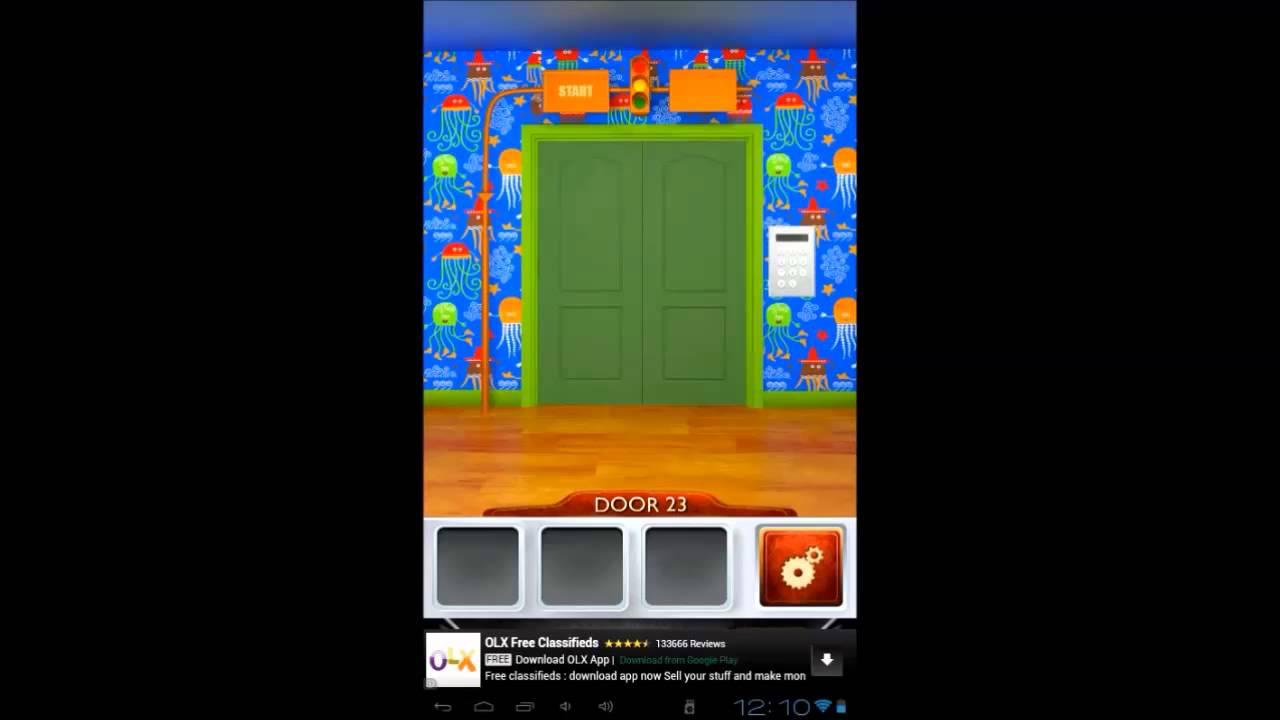 100 doors 2 level 23 walkthrough cheats youtube for 100 doors door 23