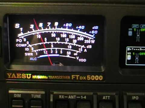 Ham Radio - TT8TT Chad - 50 Mhz CW