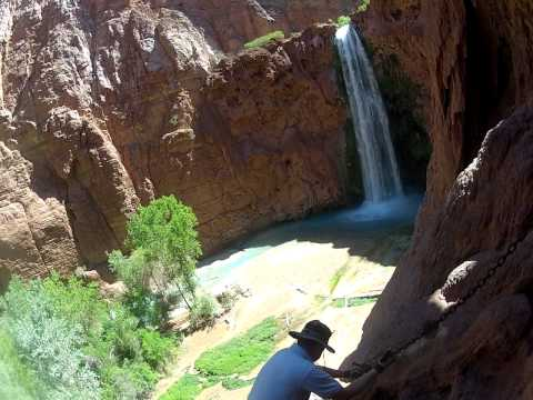 Mooney Falls Descent - Supai AZ