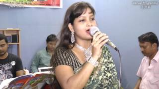 Moner Darja Khule Dilam Song Live by Rimashree | Bhorai Institute (New Town) Annual Programme - 2016