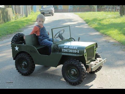 Как сделать автомобиль для ребёнка