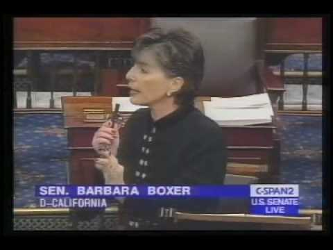 Barbara Boxer's Abortion Illogic 1/2