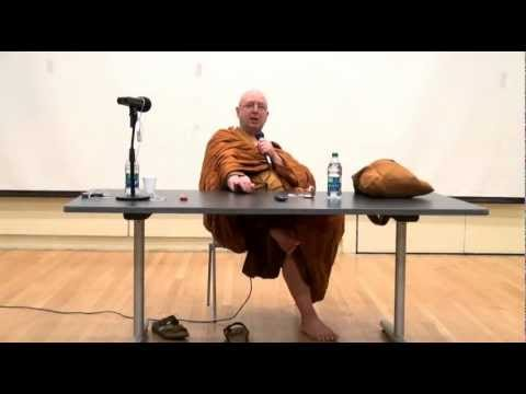 "Ajahn Brahm: ""Buddhism and Science"" public talk at the University of Toronto, 2012"