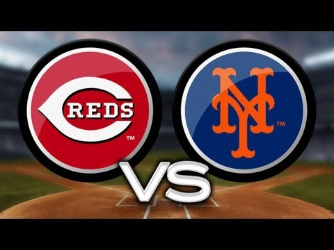 5/21/13: Reds cruise past Mets after three-run first