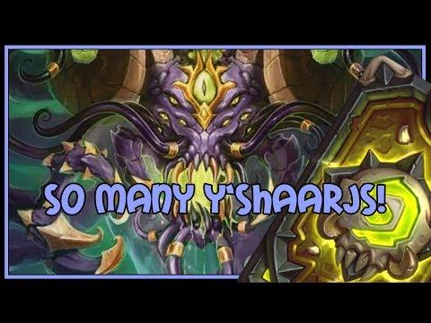 Hearthstone: So many Y'Shaarjs! (big priest)