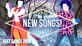 Just Dance 2016 Official Song List - Part 3 [US]