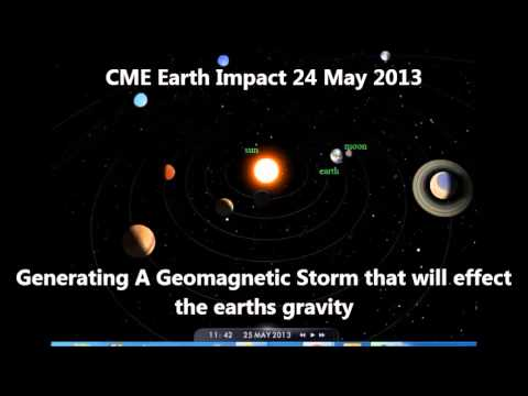 Earthquake Watch - May 24 & 25 - Massive CME - Earth Impact 24 May - 25 May Eclipse