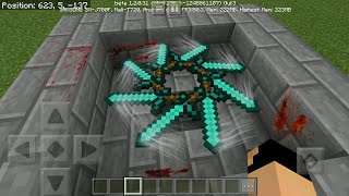 MCPE 1.2 How To Make Realistc Spinning Blade | Command Block Creation
