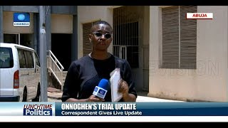 Tribunal Fixes Thursday To Deliver Judgment On Onnoghen's Trial |Lunchtime Politics|