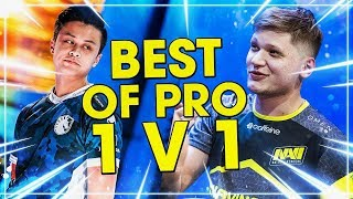 CS:GO - INSANE 1 VS 1 PRO OUTPLAYS OF ALL TIME! ft. S1mple, Device, Stewie2k &MORE!