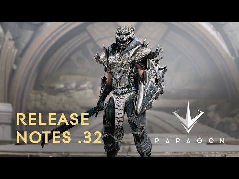 Paragon - Release Notes .32