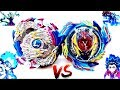 EPIC BATTLE: Nightmare Longinus .Ds VS God Valkyrie .6V.Rb -Lui vs Valt -Beyblade Burst Evolution!
