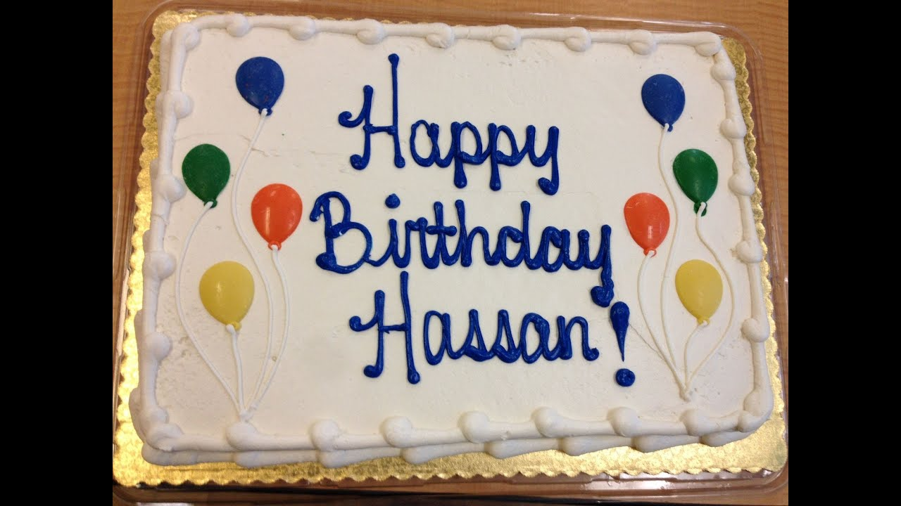 Birthday Cake With Name Hassan ~ Vlog enjoying my birthday youtube