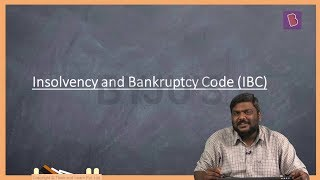 Insolvency & Bankruptcy Code and Ordinance
