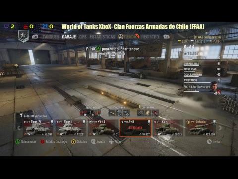 Juegos de Guerra 2 World of Tanks XboX ONE - Clan (FFAA) Español