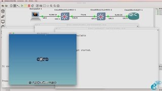 GNS3 Talks: Ostinato Packet Generator - Inject 802.1Q frames for VLAN hopping (Ostinato Part 6)