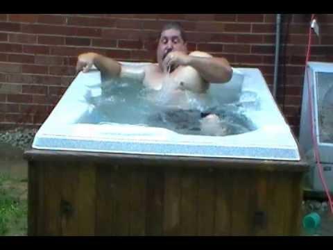Fat Guy In Hot Tub 118