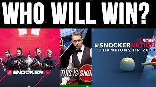 Which Snooker game will be the best?