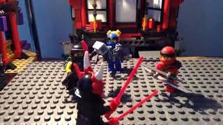 Lego Ninjago The assault on the palace!