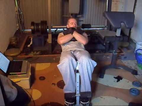 Decline Press Ups Weighted Decline Sit-ups