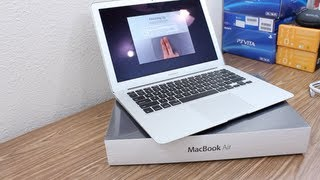 MacBook Air 13 2011 core i5 unboxing 128GB