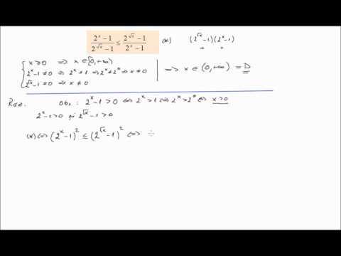 Inecuatii exponentiale rezolvate (lic_inexp3)