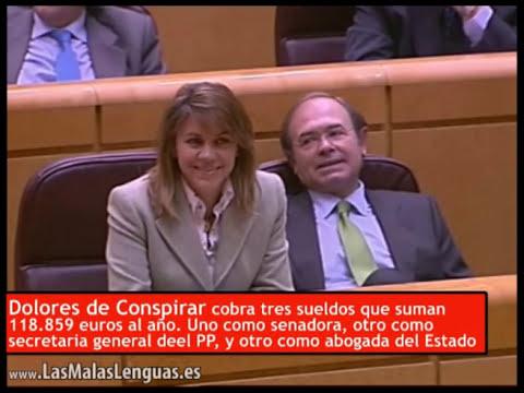 La montajista Dolores de Cospedal humillada por Chacón en su estreno en el Senado