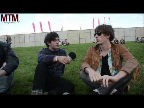 MTM.tv - Interviews - The Mystery Jets - Leeds Festival 2012 - Blaine and Pete.