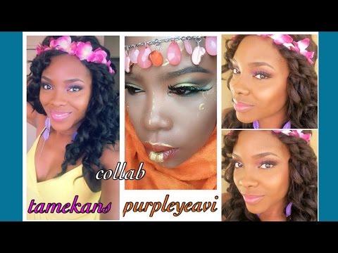 ♥ FAIRY HAIR & MAKEUP TUTORIAL COLLAB w/ PURPLEYEAVI ♥