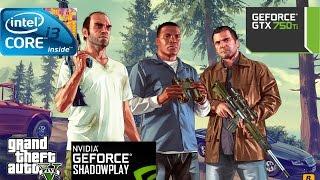GTA 5 Gameplay on GTX 460 768MB