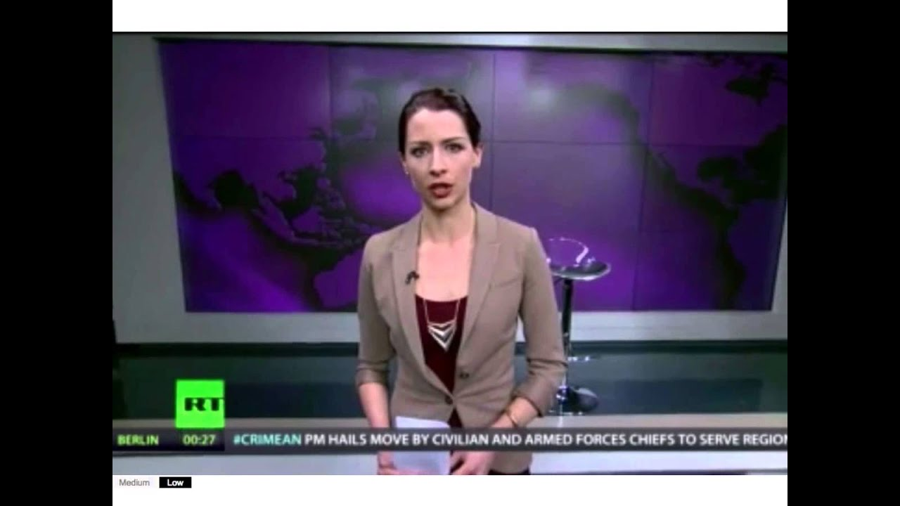 Russia Today Anchors Russia Today Anchor Abby