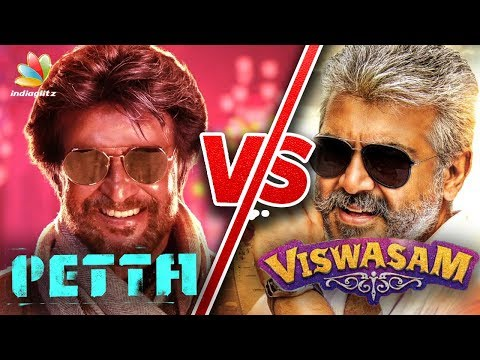 Rajinikanth to Lock Horns with Ajith | Petta Vs Viswasam | Hot Tamil Cinema News thumbnail