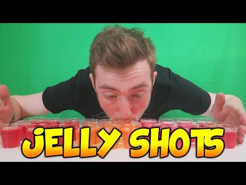 JELLY SHOT CHALLENGE: IN 2 MINUTES