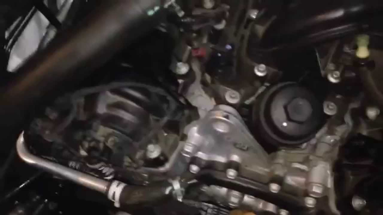pictures How to Change the Water Pump on a 2.0L, 4 Cylinder Mazda Mx6 1993 to 2002