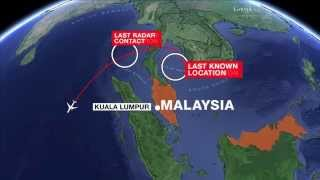 MISSING PLANE Malaysia Airlines MH370