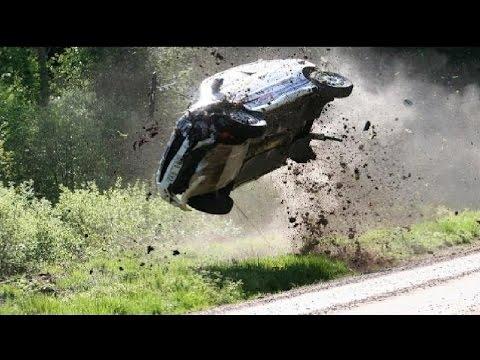 Аварии на ралли #6 WRC. Раллийные автомобили в хлам. (Подборка раллийных аварий на авто гонках)